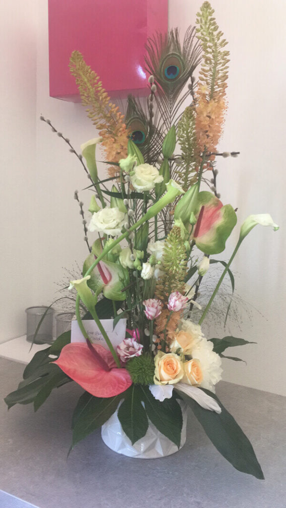 fleuriste corne barrieu entreprise